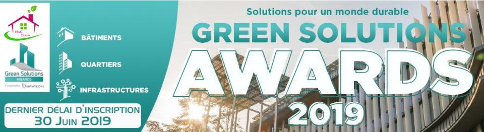 5e édition du concours Green Solutions Awards est lancée