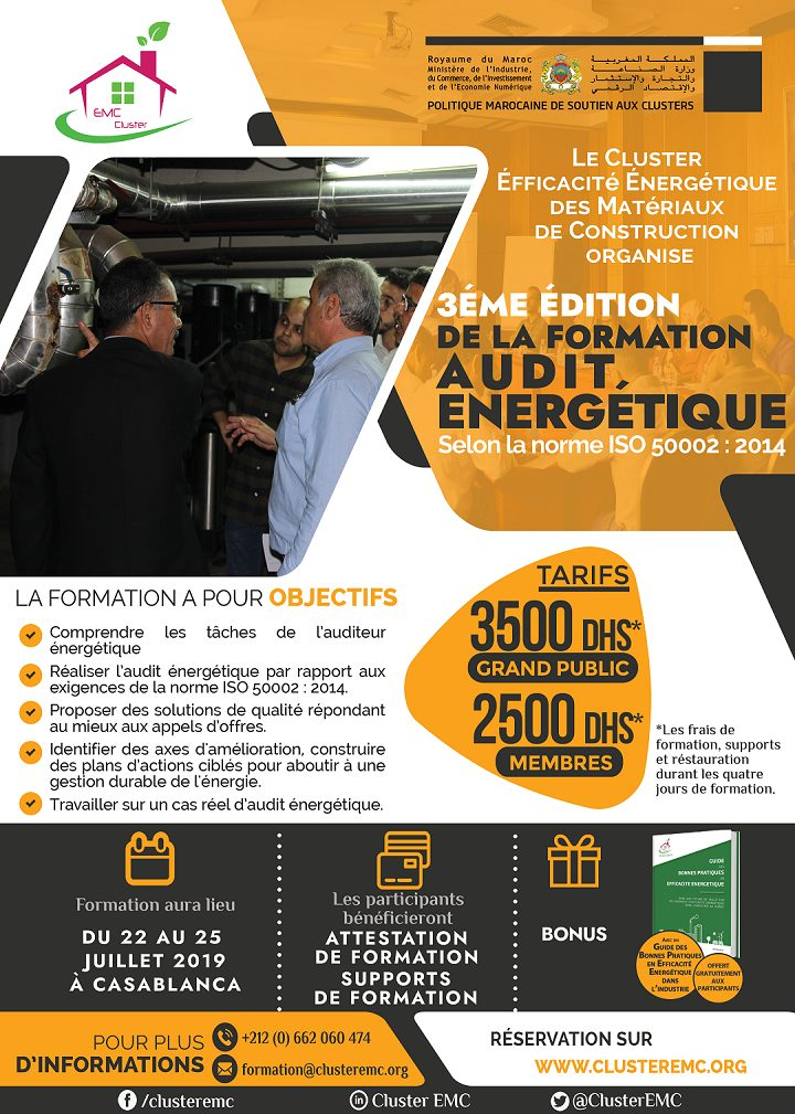 Affiche formation audit