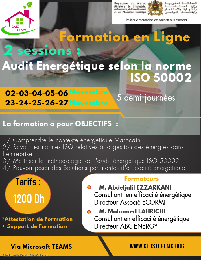 affiche formatio iso 50002